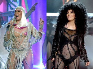Cher se apresenta no palco do Billboard Music Awards