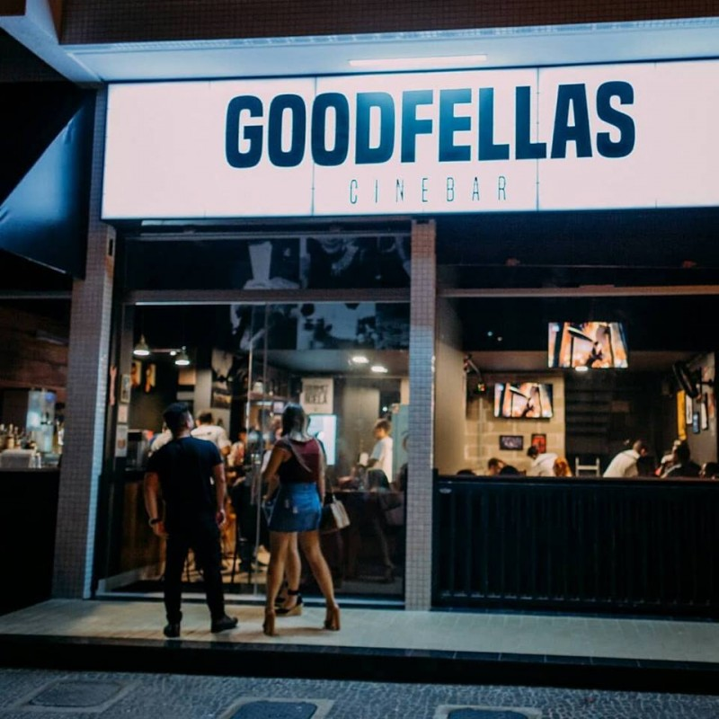 Drinks, cerveja e cinema: Goodfellas, novo cinebar de Taguatinga