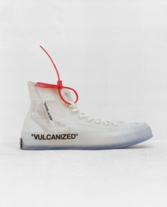 All Star transparente: collab Virgil Abloh + Converse