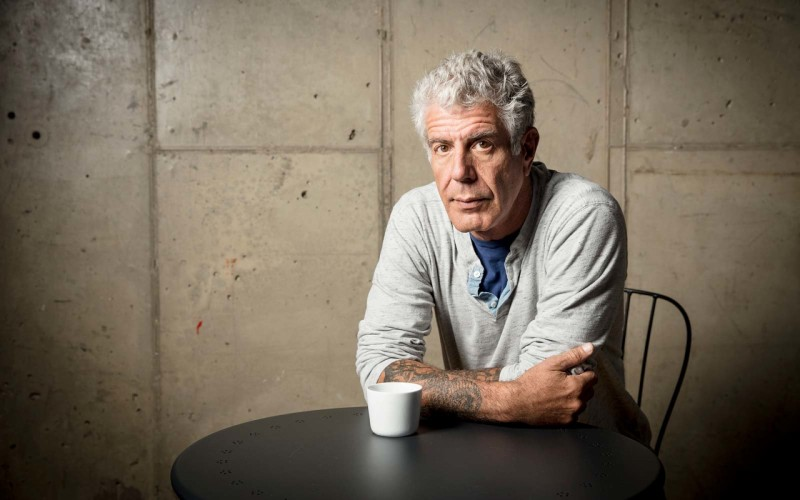 Chef e apresentador de TV, Anthony Bourdain é encontrado morto