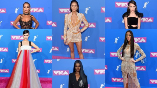 VMA: confira as famosas que arrasaram nos looks do pink carpet
