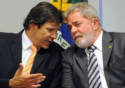 Haddad estaciona: efeito bumerangue do apoio de Lula e do PT