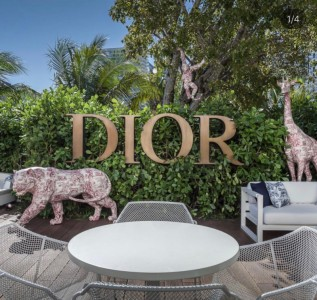 Dior inaugura café gourmet na boutique de Miami Design District