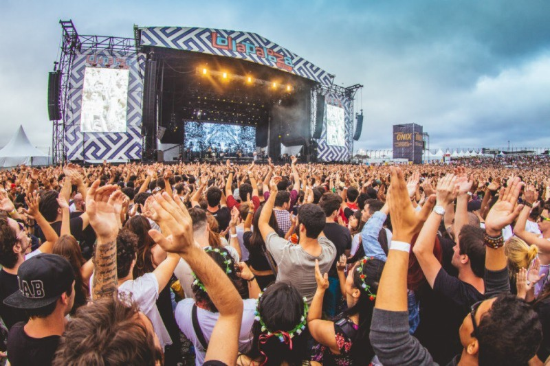 Chuva interrompe shows no Lollapalooza 2019