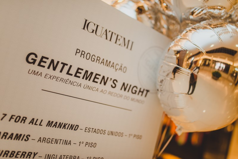 Gentlemen's Night: evento homenageia patriarcas no Iguatemi