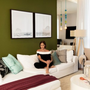 Team work! Westwing assina décor do apartamento de Deborah Secco