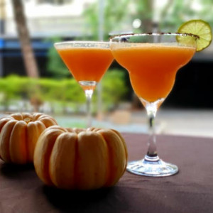 Godofredo celebra Halloween com drinks exclusivos de abóbora