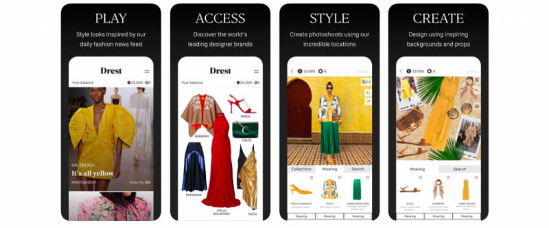 Drest: plataforma fashion combina styling, gaming e e-commerce