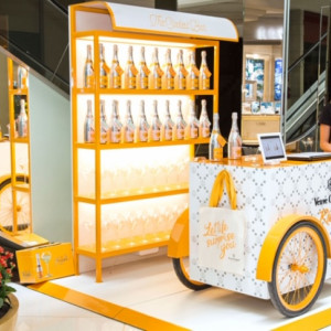 Veuve Clicquot inaugura pop-up store no Shopping Iguatemi SP