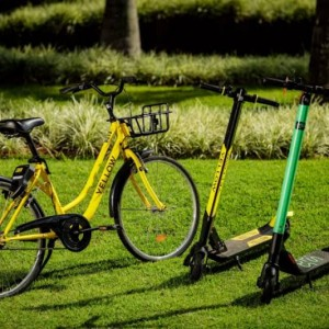 Grow, dona da Yellow, retira bicicletas e patinetes da capital